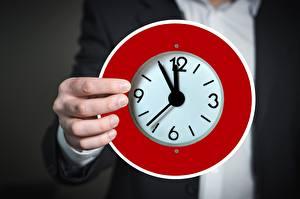 Fonds d'écran Doigts Horloge Cadran (horlogerie) Main Cercle