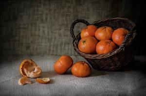 Pictures Mandarine Wicker basket