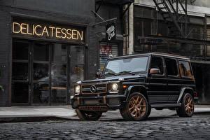 Bilder Mercedes-Benz G-Klasse Schwarz 2018 G 65  Final Edition