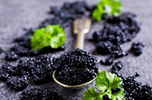 Images Seafoods Caviar Closeup