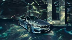 Hintergrundbilder BMW Coupe 2018 8-Series M850i XDrive