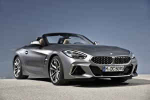 Pictures BMW Silver color Convertible Z4 M40i 2019 G29 Cars