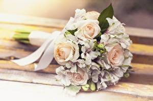 Pictures Bouquet Rose Wedding Flowers
