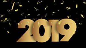 Bilder Neujahr Schwarzer Hintergrund 2019
