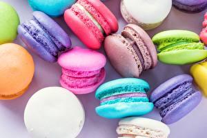 Fotos Kekse Großansicht Macaron Lebensmittel
