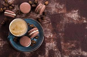 Hintergrundbilder Kekse Kaffee Macaron Tasse