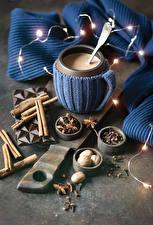 Picture Cocoa Cinnamon Star anise Illicium Cup Fairy lights