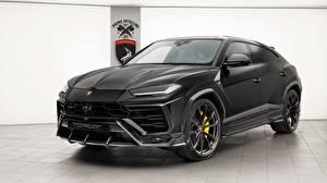 Images Lamborghini Black 2018 TopCar Urus auto