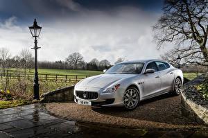 Fotos Maserati Silber Farbe 2013-16 Quattroporte S Autos