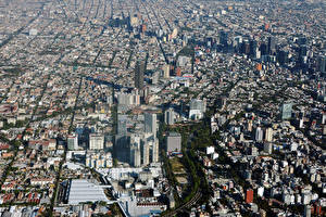 Fotos Mexiko Gebäude Megalopolis Mexico City