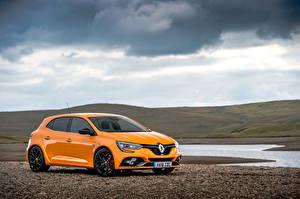 Hintergrundbilder Renault Orange Metallisch 2018 Megane R.S. 280 Cup Autos