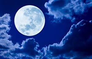 Fotos Himmel Wolke Mond Natur