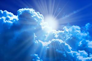 Bilder Himmel Wolke Sonne Lichtstrahl Natur