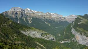 Fotos Spanien Gebirge Wälder Landschaftsfotografie Felsen Catalan Pyrenees, Catalonia Natur