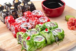 Hintergrundbilder Sushi Reis Sojasauce