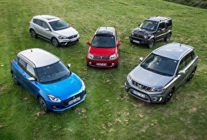Bakgrundsbilder på skrivbordet Suzuki - Cars Många Bilar