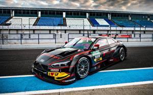 Wallpaper Audi Tuning Black RS 5 DTM 2019 automobile