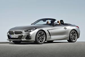 Wallpapers BMW Silver color Cabriolet M40i Z4 2019 G29 Cars