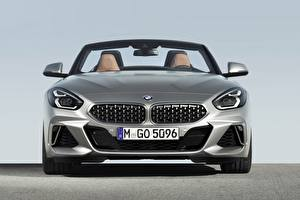 Image BMW Front Silver color Roadster Z4 M40i Z4 2019 G29 automobile