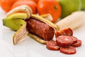 Image Bananas Sausage Creative Sliced food
