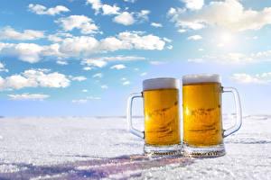 Pictures Beer 2 Mug Foam
