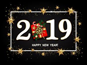 Wallpaper New year 2019 English