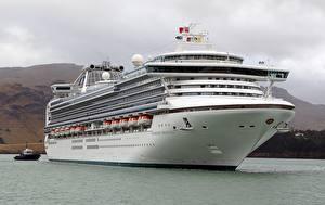 Hintergrundbilder Kreuzfahrtschiff Schiffe Diamond Princess