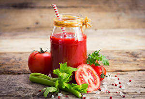 Wallpapers Juice Vegetables Tomatoes Boards Jar Food