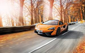 Image McLaren Moving Yellow automobile