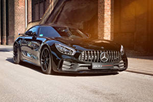 Images Mercedes-Benz Black Metallic 2018-19 Edo Competition AMG GT R automobile
