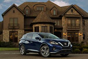 Image Nissan Blue Metallic 2019 Murano automobile