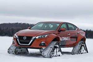Hintergrundbilder Nissan Tuning Braunes 2019 Altima-te AWD Concept Autos