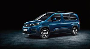 Bilder Peugeot Blau Metallisch 2018 Rifter Long Worldwide Autos