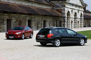Photo Peugeot Two Peugeot 407, Peugeot 407 SW auto