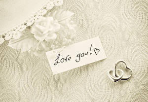 Images Rose Valentine's Day English Ring Two love you