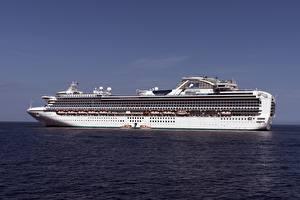 Hintergrundbilder Meer Schiffe Kreuzfahrtschiff Sapphire Princess
