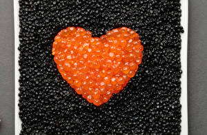 Images Seafoods Roe Heart Grain