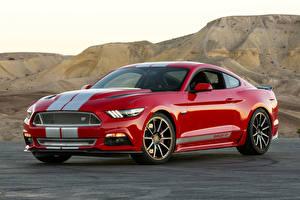 Hintergrundbilder Shelby Super Cars Rot Metallisch  Autos