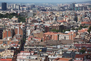 Bilder Spanien Haus Barcelona Megalopolis
