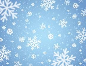 Fotos Textur Schneeflocken