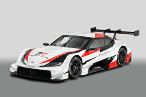 Fotos Toyota Fahrzeugtuning Weiß 2019 GR Supra Super GT Concept