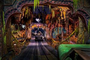 Hintergrundbilder Vereinigte Staaten Disneyland Park Kalifornien Anaheim Design Städte