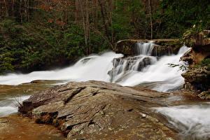 Hintergrundbilder USA Park Wasserfall Ohiopyle State Park Pennsylvania Natur