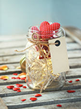 Photo Valentine's Day Jar Heart