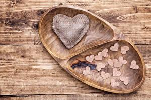 Hintergrundbilder Valentinstag Bretter Herz