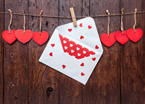 Hintergrundbilder Valentinstag Bretter Mauer Wäscheklammer Herz