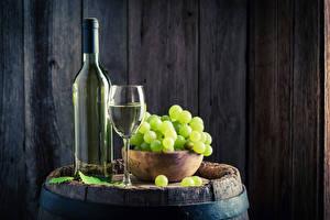 Bilder Wein Weintraube Bretter Flasche Weinglas Lebensmittel
