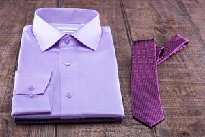 Bilder Bretter Hemd Krawatte Violett