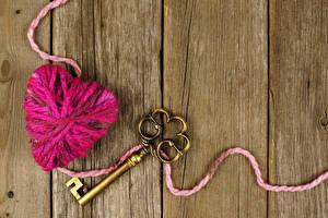 Bilder Bretter Herz Schlüssel