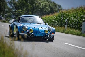 Images Blue Front Alpine a110, Thomas zilliox auto